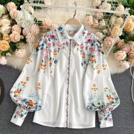 Floral Reflection Shirt