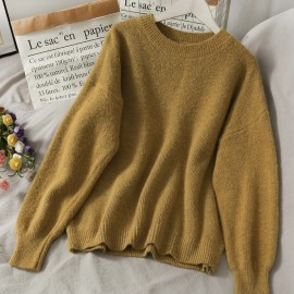 Candy Color Knit Pullover
