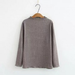 LM+ Shimmer Knit Pullover