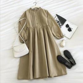 Frill Collar Dress