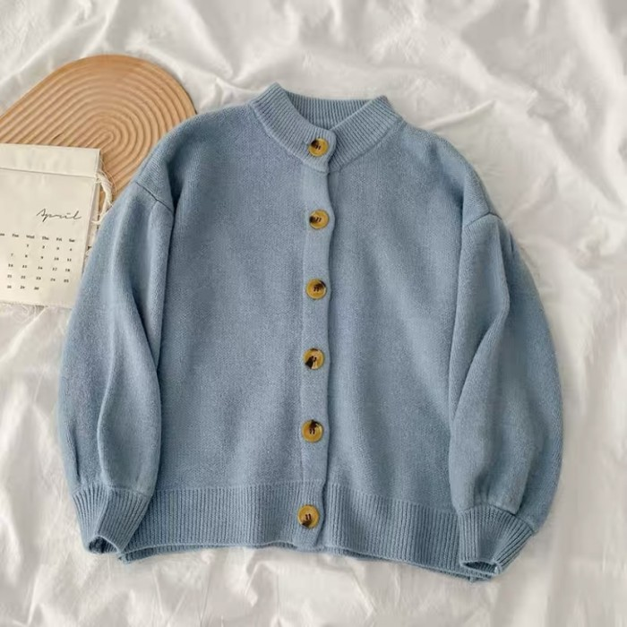 Button Knit Cardigan