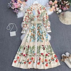 Floral Reflection Dress