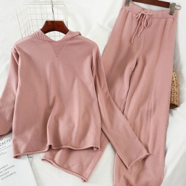 Knit Pullover and Pants