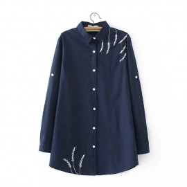 LM+ Embroidered Detail Shirt