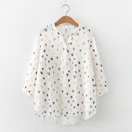 Heart Motif Blouse
