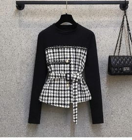 LM+  Checkered Top