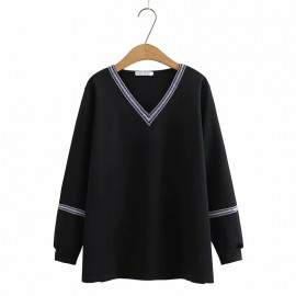 LM+ Motif Trim Blouse