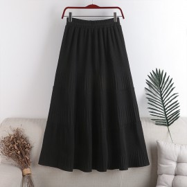 Basic Knit Skirt