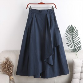 Asymmetrical Wrap Skirt